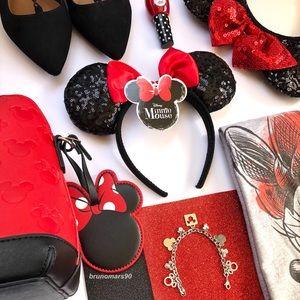 •HP• Disney Minnie Mouse Ear & Bow Headband